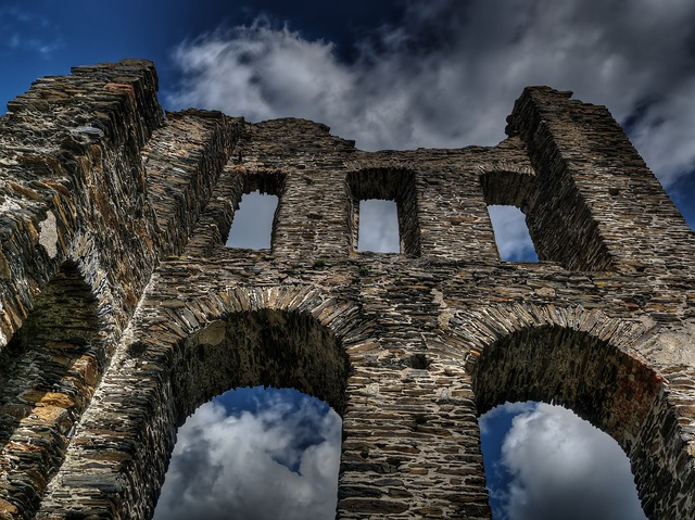 Castle, Middle Ages, Sublime, Enormous, Imposing