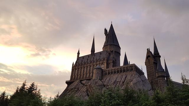 Castle, Japan Universal Studio, Harry Potter