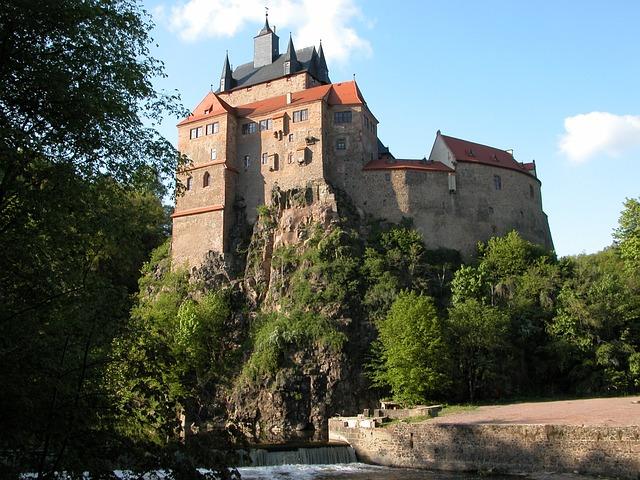 Castle Kriebstein, Saxony, Fairy Tale Castle, Zschopau
