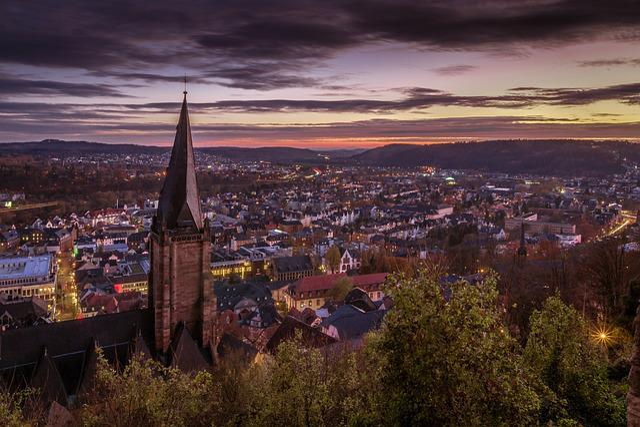 Marburg, Germany, Lan, Castle, Hesse, Architecture