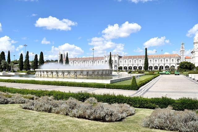 Portugal, Lisbon, Castle, Belim, Garden, Art Object
