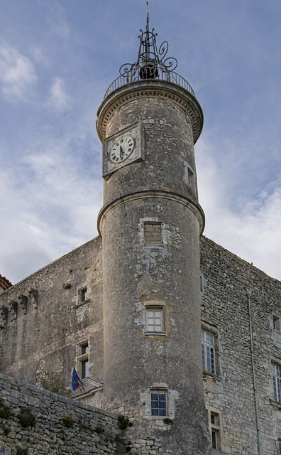 Gard, Lussan, Village, Medieval, Castle