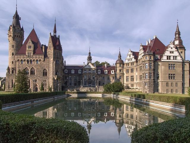Sabine, Moszna, Castle, Silesia, Renesans