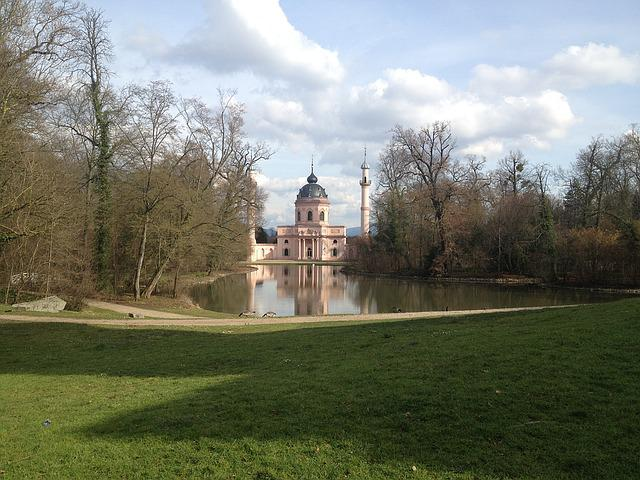Schwetzingen, Mosque, Romantic, Beautiful, Castle Park