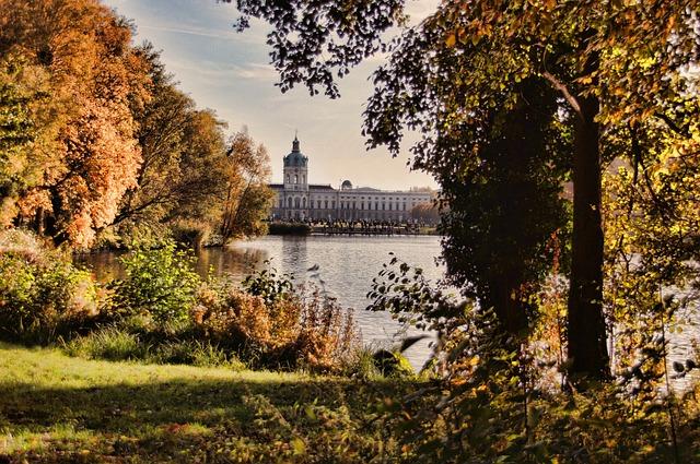 Castle Charlottenburg, Castle Park, Berlin, Autumn
