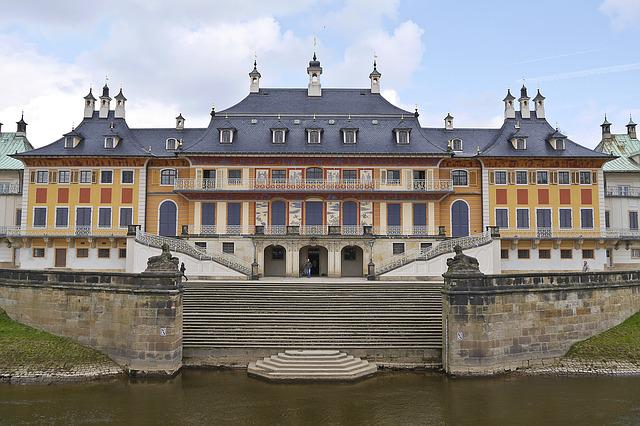 Castle, Dresden, Elbe, Pillnitz, Saxon Switzerland