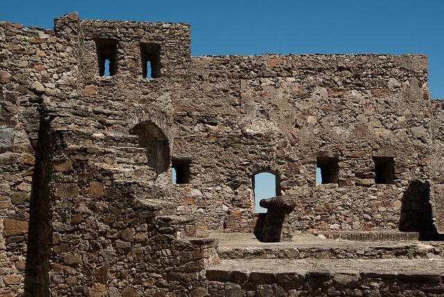Portugal, Castle, Canon, Ramparts, Medieval Village