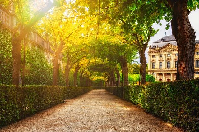 Park, Castle, Residence, Garden, Historically