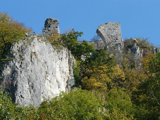 Burgruine, Ruin Hohengerhausen, Ruin, Castle