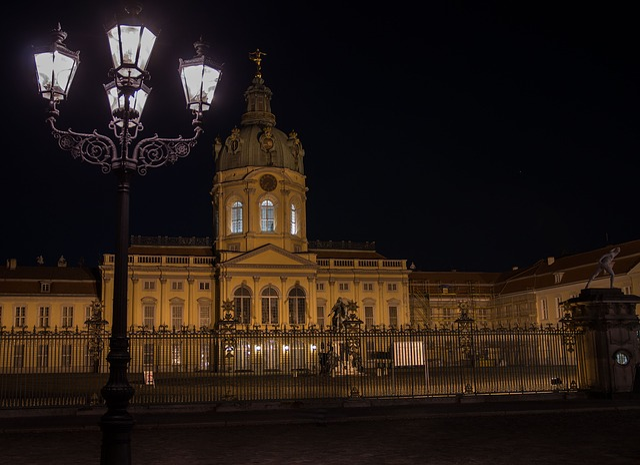 Castle, Charlottenburg Palace, Schinkel, Lantern