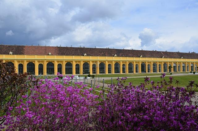 Vienna, Austria, Orangery, Castle, Schönbrunn