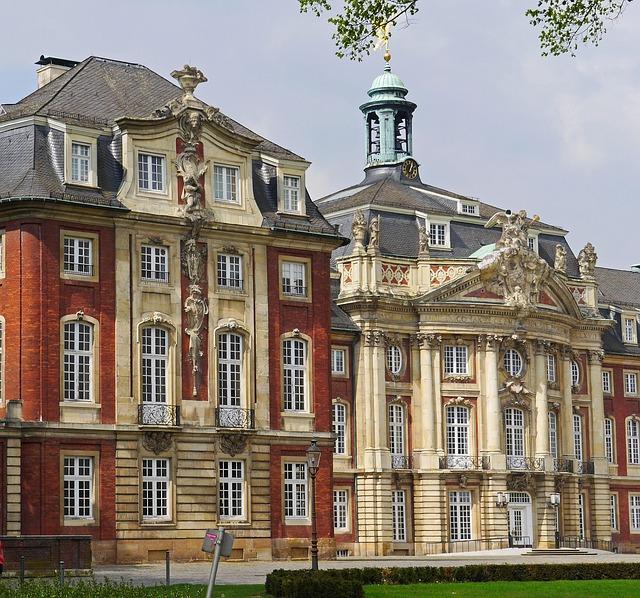 Münster, Westfalen, Castle, Stadtschloss