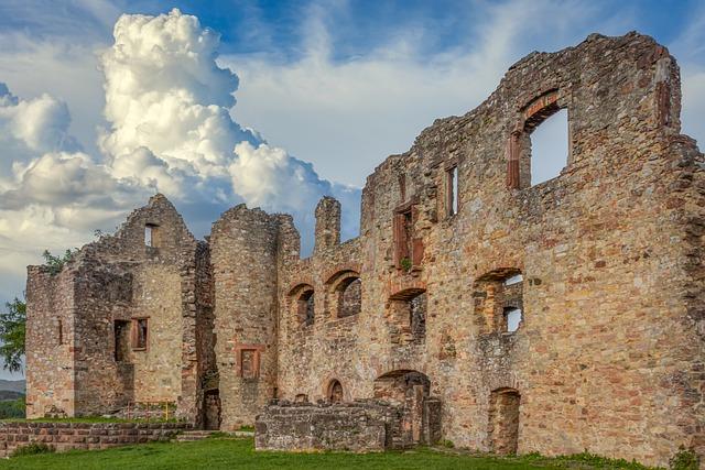 Stronghold, Emmendingen, Ruin, Burgruine, Castle