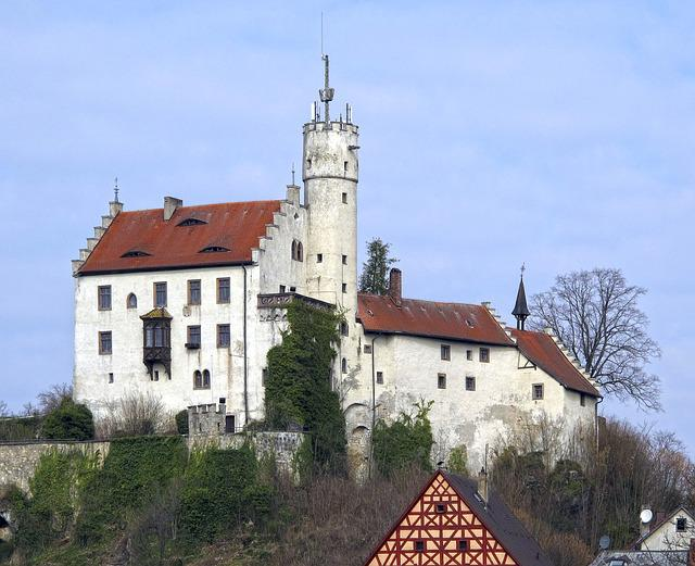 Summit Castle, Castle, Middle Ages, Gößweinstein