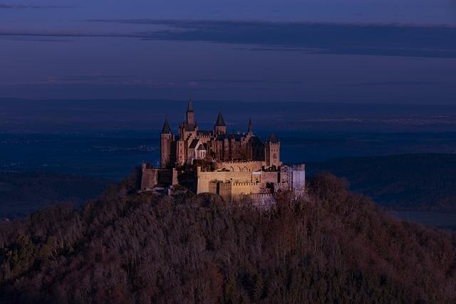 Castle, Fortress, Monument, Sunset, Sunrise, Burg