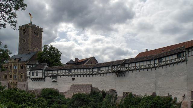Thuringia Germany, Castle, Wartburg Castle, Eisenach