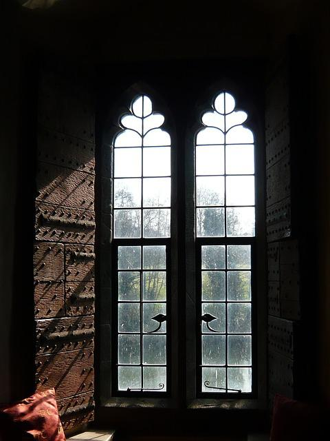 Window, Leeds, Castle, Architecture