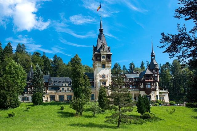 Carpathian Mountains, Castles, Peles Castle, Brasov