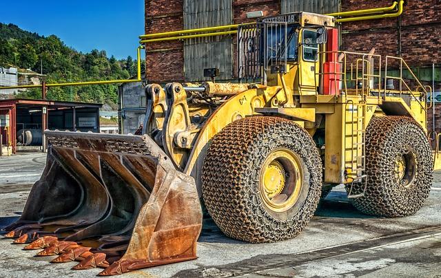 Wheel Loader, Cat, Caterpillar, Construction Machinery