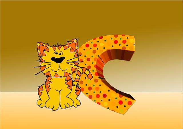 Letters, Abc, Education, Cat, Alphabet, Literacy