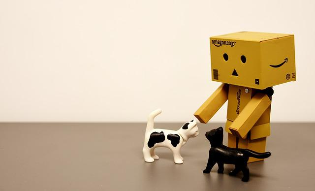 Danbo, Cat, Funny, Figure, Toys, Deco, Decoration