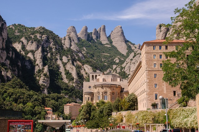 Spain, Catalonia, Montserrat