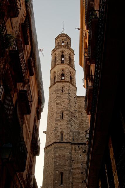 Steeple, Barcelona, Catalonia, Spain, Architecture