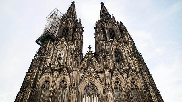 Architecture, Building, Cathedral, Church, Cologne