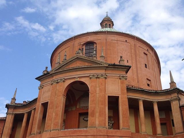 Bologna, St Luke, Italy, Church, Cathedral, Monument