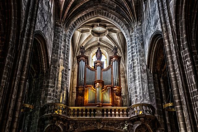 Organ, Instrument, Cathedral, Church, Church Organ