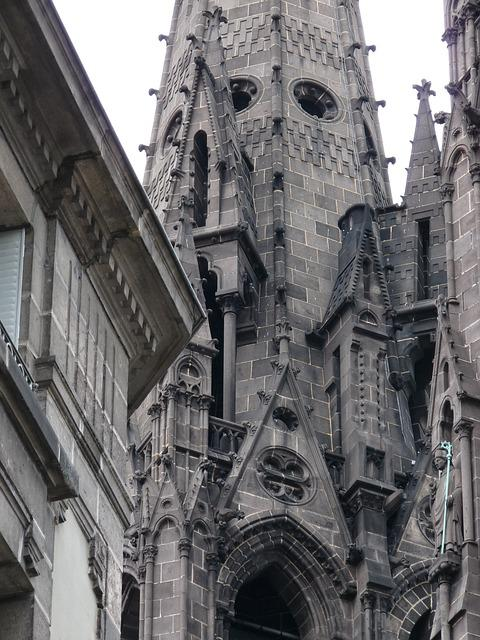 France, Clermont-ferrand, Cathedral