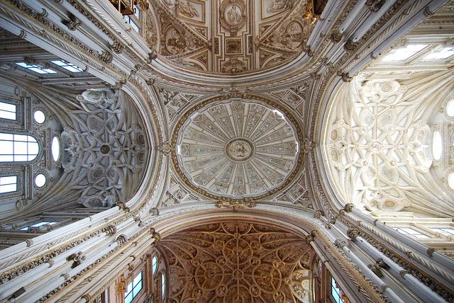 Mezquita, Cordoba, Andalusia, Spain, Cathedral