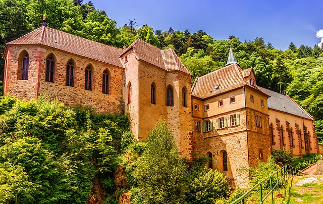 Church, Monastery, Notre Dame, Cathedral, Dusenbach