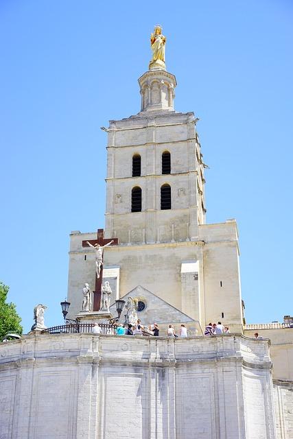 Cathedral Notre-dame-des-doms, Fig, Golden, Avignon