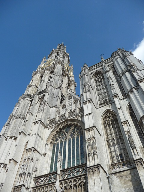 Church, Cathedral, Cathedral Of Our Lady, Antwerp