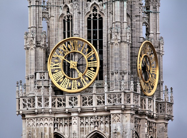 Clock Tower, Church, Cathedral, Cathedral Of Our Lady