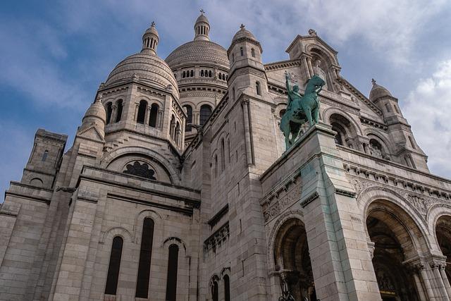 Sacre Coeur, Cathedral, Paris, Architecture