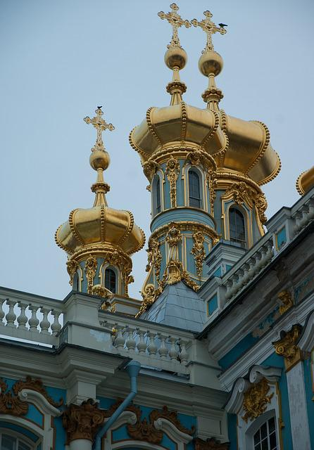 Saint Petersbourg, Pouchkine, Catherine Palace, Baroque