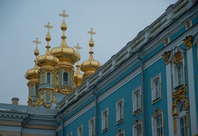 Saint Petersbourg, Catherine Palace, Pouchkine, Tsars