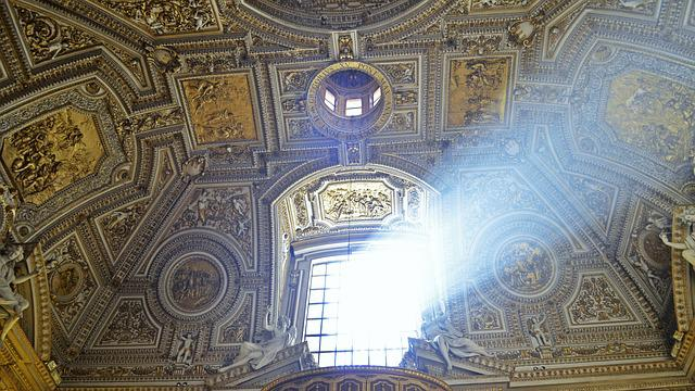 St Peter's Basilica, Vatican, Catholic, Church, Faith