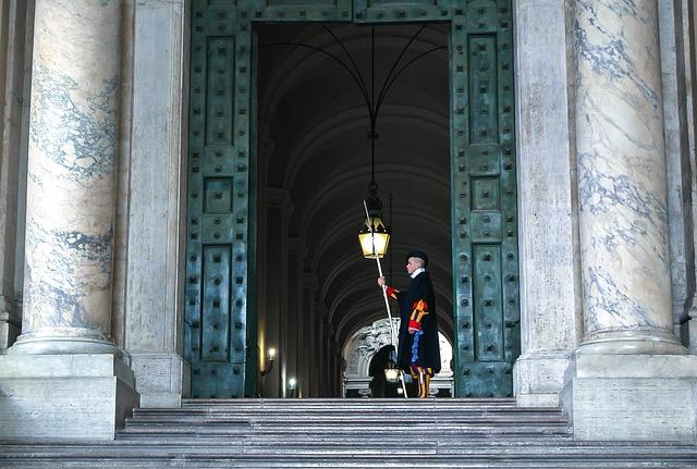 Vatican, Catholic, Potato, Church, Guard, Switzerland