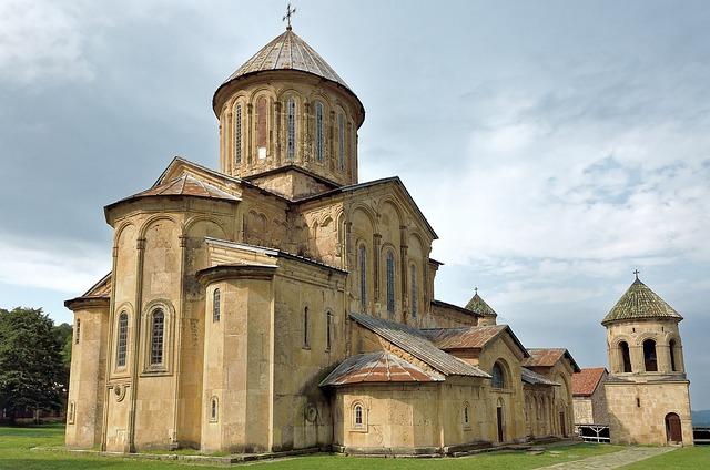 Caucasus, Georgia, Monastery Of Gelati, Architecture