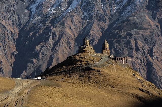 Europe, Asia, Georgia, Caucasus, Caucasia, Travel