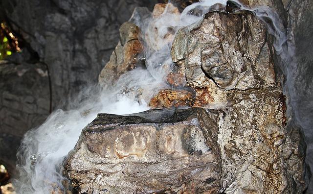 Fog, Rock, Moisture, Water, Mood, Mystical, Cave