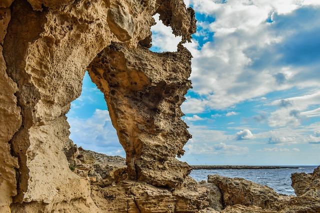 Cyprus, Cavo Greko, Landscape, Rocky, Formation