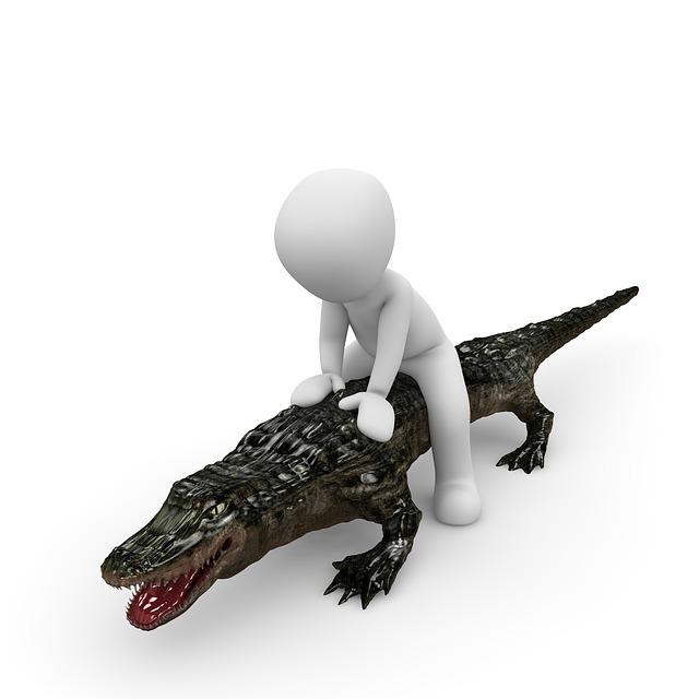 Crocodile, Ride, Nile, Wild, Animal, Cayman, Predator