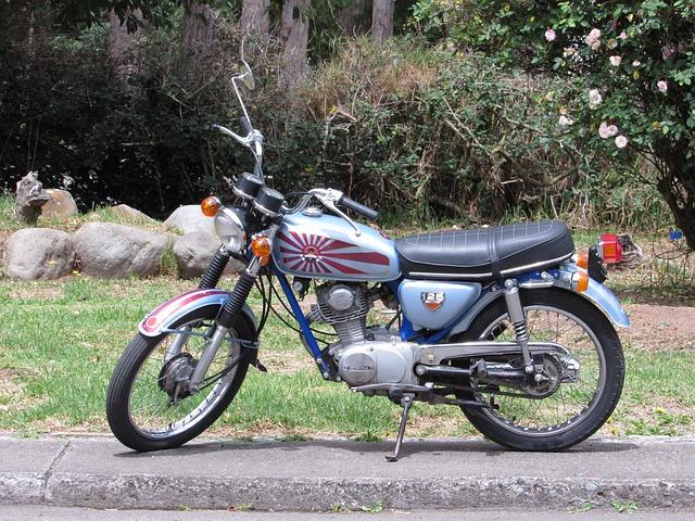 Moto, 1973, Honda, Cb125, Aventurera