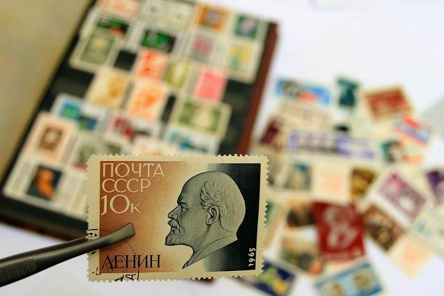 Communist, Lenin, Postage Stamp, Cccp, Symbol
