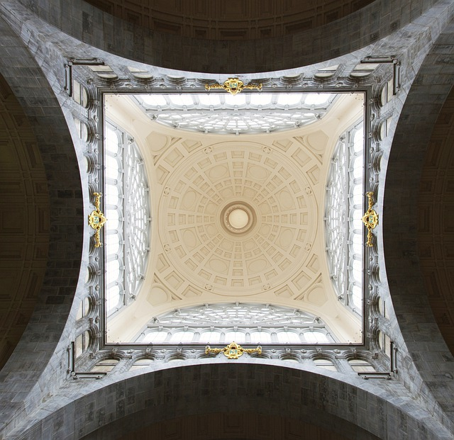 Ceiling, Church, Ceiling Painting
