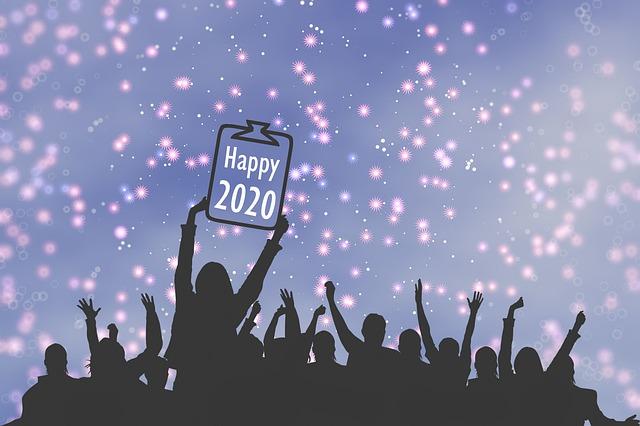 New Year, 2020, Celebrate